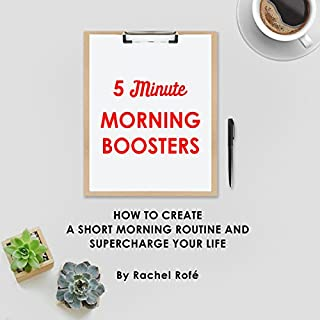 5 Minute Morning Boosters audiobook cover art