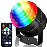 NEQUARE Party Light Disco Ball Disco Light 20 Colors Sound Activated Stage Light with Remote Control for Karaoke, Festival Celebration Birthday Xmas Wedding Bar Club Party