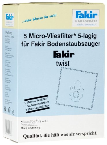 Fakir 2060805 Ares Micro-Vliesfilter Pack A 5