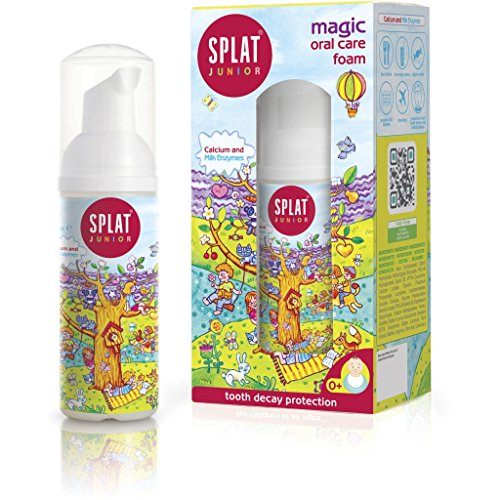 Splat Magic Oral Care Foam For Kids With Calcium, 3er Pack(3 x 50 ml)