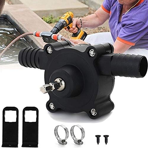 BlueRCKing 1pcs Hand Electric Drill Pump Self Priming Water Transfer Pump Small Household Pump