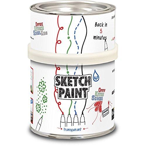 SketchPaint pittura, 500 ml, colore: trasparente