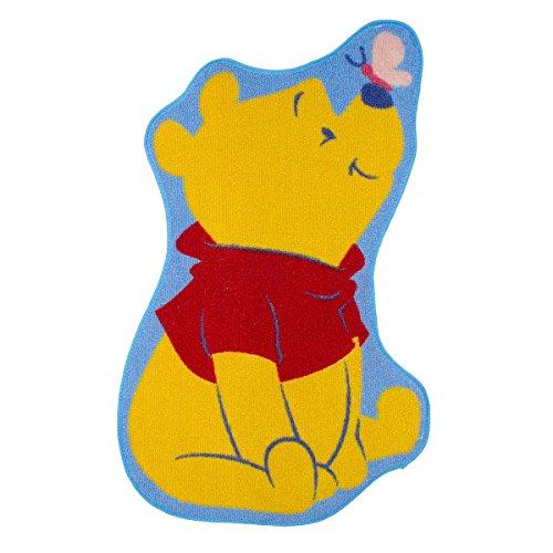BEBEGAVROCHE Alfombra Forma Winnie The Pooh Disney