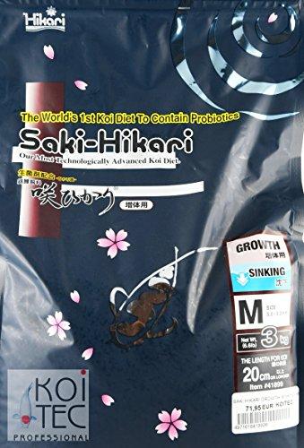 Hikari SAKI Growth Sinking M ca. 6mm 3 KG. Das Koifutter für die Champions
