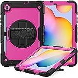 Étui pour Tablette Galaxy for Samsung Galaxy Tab S6 Lite P610 antichocs coloré en Silicone PC...