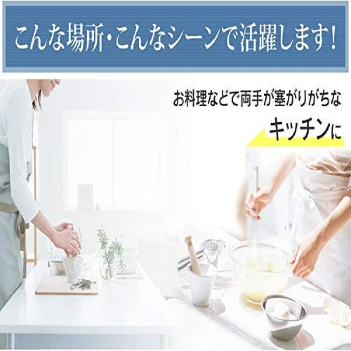 【5色×2サイズ】アイリスプラザゴミ箱おしゃれ自動匂いが漏れない自動ゴミ箱キッチン生ゴミふた付き48L(45リットルゴミ袋が入る)センサーシルバー