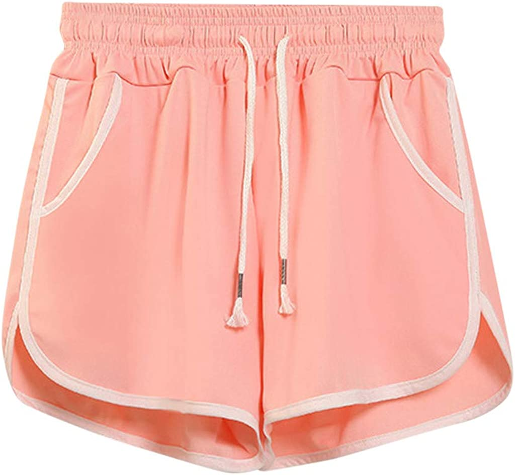Workout Shorts for Women,Athletic Workout Gym Yoga Running Fitness Sports Shorts for Women Lounge Short Pants