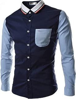 Qiyun Autumn Shirt Male Leisure Shirt Long Sleeves and Turn Down Collar Top Single-Breasted Cardigan