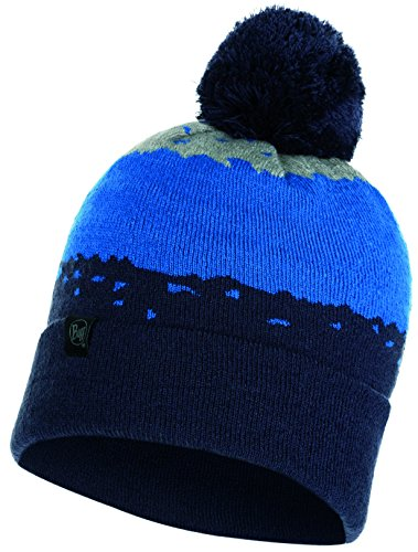 Set - Buff® Knitted Hat Tove Bonnet de Hiver + Ultrapower Tissu Tubulaire   Pompom Tuque   Sports d'hiver   Bonnet de Ski   Snowboard Bonnet, Buff 2018:Knitted Hat Buff® Tove - 117850.779.10.00