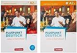 Pluspunkt Deutsch A2: Teilband 2 - Allgemeine Ausgabe - Arbeitsbuch und Kursbuch: Leben in Deutschland. 120772-4 und 120577-5 im Paket