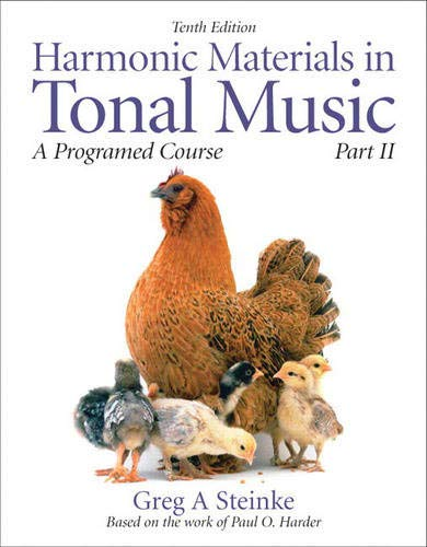 Harmonic Materials in Tonal Music: A Programmed Course, Part 2 (Pt. 2)