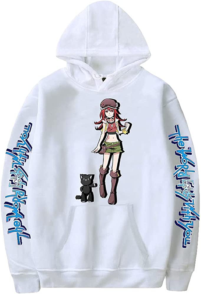 store The World Ends with You Hoodie Harajuku Animer and price revision Sweatshirt P Men Women's