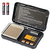 YYQ Mini Bilancia Digitale Professionale, Portatile Bilancia Cucina 200g x 0,01g, Tascabile di Precisione,...