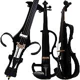 Aliyes Violonchelo eléctrico de madera maciza profesional hecho a mano 4/4 tamaño completo silencioso eléctrico Cello-1802