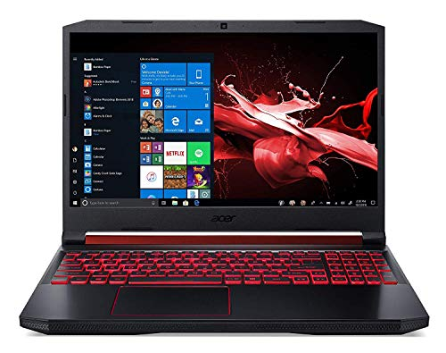 Acer Nitro 5 AN515-54-75T7 Ordinateur portable gaming 15.6' FHD (Core i7, 16 Go de RAM, 1024 Go SSD, NVIDIA GeForce GTX 1660Ti, Windows 10), Ancien Modèle