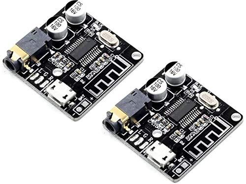 TECNOIOT 2pcs VHM-314 Bluetooth 5.0 Audio Receiver Lossless Decoder Wireless Stereo Music