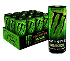 ENERGY TO THE MAXX | Don't let the sleek can fool you; Monster MAXX is fully loaded and packs our biggest punch. Hop on the rocket ship and enjoy the ride. Monster MAXX knows no limits! NITROUS TECHNOLOGY | Monster MAXX is supercharged with our Monst...