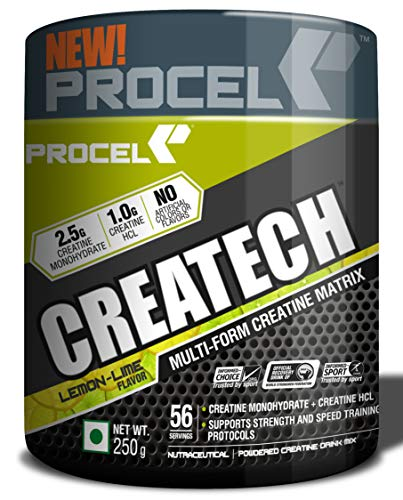 PROCEL CREATECH MultiCreatine Supplement with Monohydrate a