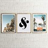 Diy diamante pintura playa palmera decoración pintura mural arte imagen sala decoración del hogar sin marco