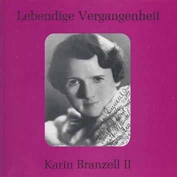Lebendige Vergangenheit - Karin Branzell (Vol. 2)