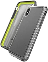 Raptic Ultra, Compatible with Apple iPhone X, iPhone Xs Case, (Formerly Defense Ultra) - Heavy Duty Protective Case with Anodized Aluminum Frame, Military Grade Drop Tested Case, Gray