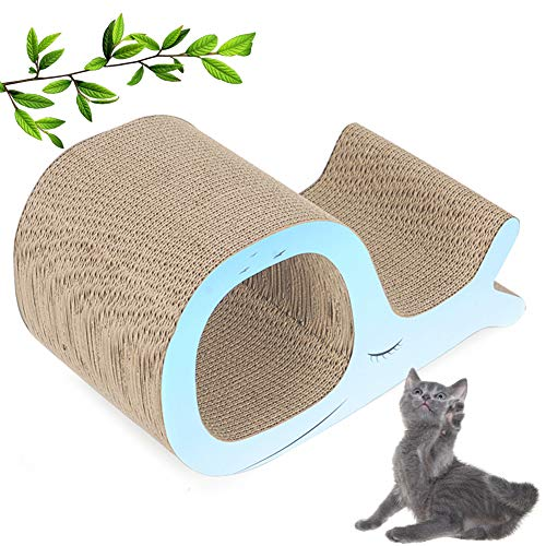 Cat Scratching Lounge Sofa, Sofa Shield Saver Protecting Table, 100% Environmental Protection, Portable Durable for Attracts Cats/Kitten Attention And Keep Healthy Cat Claws