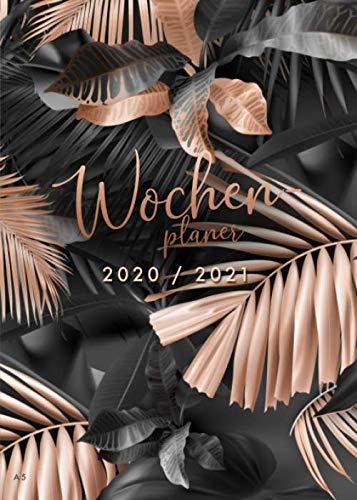 Wochenplaner 2020 2021 A5: 18 Monate Terminplaner 2020/2021 Wochenübersicht / Monatsplaner, Juli 2020 bis Dezember 2021