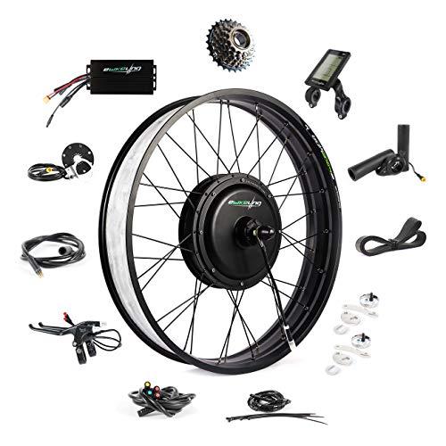 Ebike Conversion Kit 48V 1200W 26' Fat Tire Direct Drive...