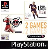 Brian Lara Cricket / Jonah Lomu Rugby [ Playstation ] [Import anglais]