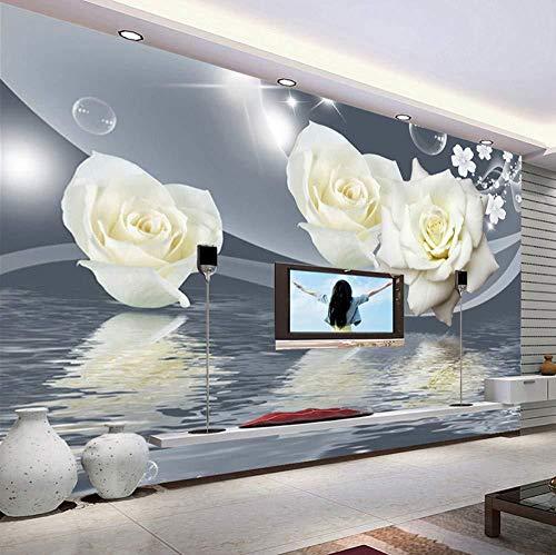 Maak elke mogelijke muurschildering muurschildering muurdecoratie kunst van 3D moderne woonkamer achtergrond fotobehang roze bijzonder aan (W)300x(H)210cm (W) 300 x (H) 210 cm
