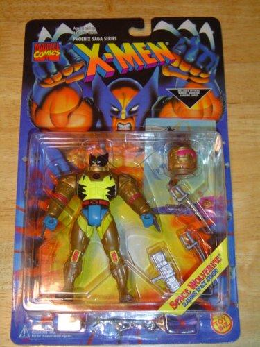 X Men Phoenix Saga Space Wolverine w/Helmet and accessories Action Figure