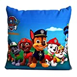 Paw Patrol Blue Pillow Blanket, Kids Huggable Pillow and Blanket Perfect for Pretend Play, Travel, nap time, for Home Office Car Air Conditioned Room Nap Time Pillow Blanket 2 in 1