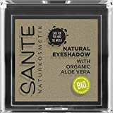Sante Naturkosmetik Natural Eyeshadow 04 Tawny Taupe, sombra de ojos mate, matices de color, orgánicos, vegano, 1,8 g