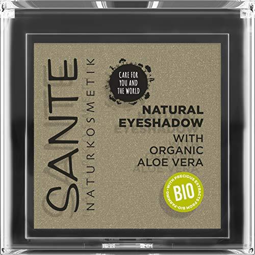 SANTE Naturkosmetik Natural Eyeshadow 04 Tawny Taupe, Lidschatten Matte Farbnuance, Bio-Extrakte, Vegan, 1,8g