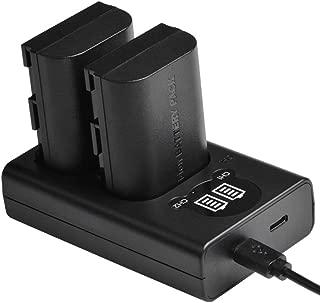 HangTon Full Decoded LP-E6 Dummy Battery NP-F970 770 Mount Plate Adapter 7.4V for Canon EOS 5D 7D DSLR Camera F970-E6