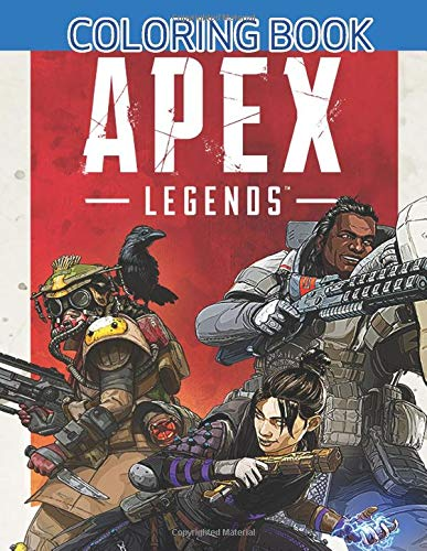 Apex Legends Coloring Book: JUMBO Coloring Book for Adults and Kids