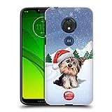 Offizielle Animal Club International H& 2 Tiere Harte Rueckseiten Huelle kompatibel mit Motorola Moto G7 Play