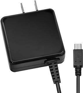 エレコム USB 充電器 ACアダプター コンセント [ スマホ & IQOS & glo 対応 ] microUSB 折畳式プラグ ブラック MPA-ACMA1510NBK
