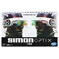 Simon Optix Game - 2 Headsets Included - Wearable Version of a Classic Game - Raise Your Hands in The Correct Color Pattern to Succeed - Play Solo or with Your Friends - Batteries Not Included