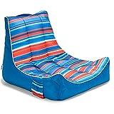 Big Joe Meash Captain's Chair Float, Blurred Stripe Americana