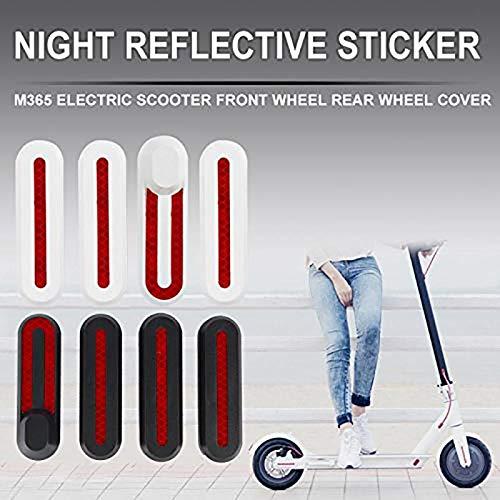 Verdelife Smart Electric Scooter Radnabenabdeckung | Scooter Ersatzteile für Xiaomi M365 Scooter | Schutzhülle Dekorative Schale mit Aufklebern