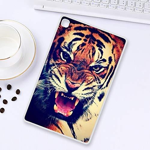 ghn Tablet Case Painted Soft Tablet Cases For Samsung Tab S6 Lite P610 T860 A7 10.4 S7 Plus T975 T870 S3 S2 9.7 T820 T815 E 8.0 T3777 T715 9.6 Tablet Accessories (Color : B024, Size : Tab S7(T870))