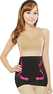 YK Care® Abdomen Shaper Burn Fat Lose Weight Fitness Fat Cellulite Burner Slimming Body Shaper Waist Belt (L: 27.17 - 33.46 inches, Black)