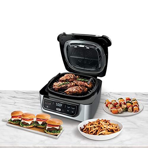 Ninja Foodi 5-in-1 4-qt. Air Fryer, Roast, Bake, Dehydrate Indoor Electric (AG301), 10