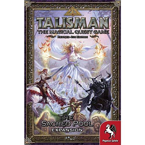 Pegasus Spiele 56205E Talisman The Sacred Pool - Juego de Mesa (expansión)