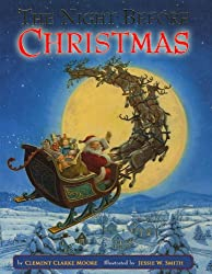 Image: 'Twas the Night before Christmas (illustrated), by Clement Moore (Author). Publication Date: December 11, 2011