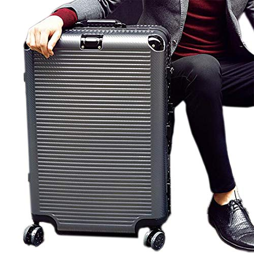 DAXIQUE Trolley bagage, hoek aluminium frame 360° mute caster PC koffer TSA wachtwoord lichtgewicht grote capaciteit koffer