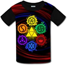 Eloise Reynolds Le-gend of Ze-lda O-Carina of Time Unisex Children's Kids 3D Short Sleeve Soft T-Shirts tee