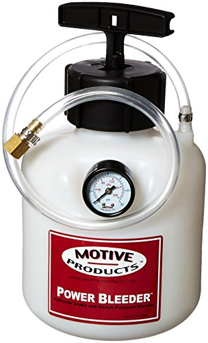 Motive Products Brake Bleeder, Power Bleeder, Catch Can/Fittings/Hoses/Pump, European Style, Kit (100)