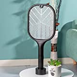 Renyke Mosquito Killer Mosquitoes Lamp & Racket 2 in 1 USB Rechargeable Electric